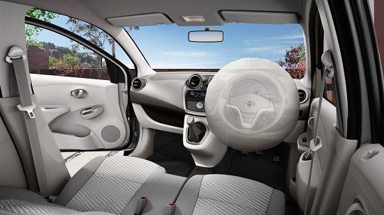 Interior Datsun Go Panca