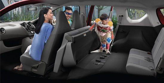 Interior Mobil Datsun Go Plus