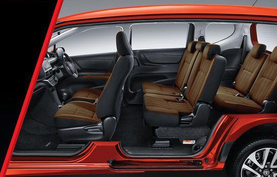Interior Mobil Toyota Seinta
