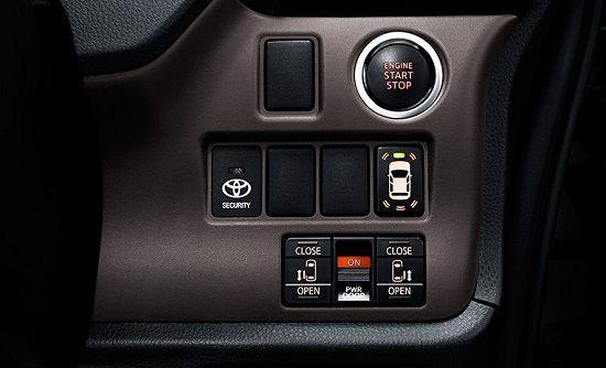 Interior Mobil Toyota Voxy