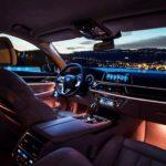 Interior mobil BMW 7 Series