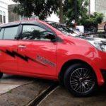 Modifikasi Daihatsu Sigra Merah