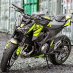 Modifikasi Kawasaki Z250 Carbon