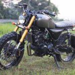 Modifikasi Kawasaki Z250 Scrambler