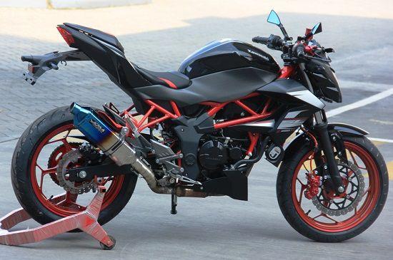 Modifikasi Kawasaki Z250SL