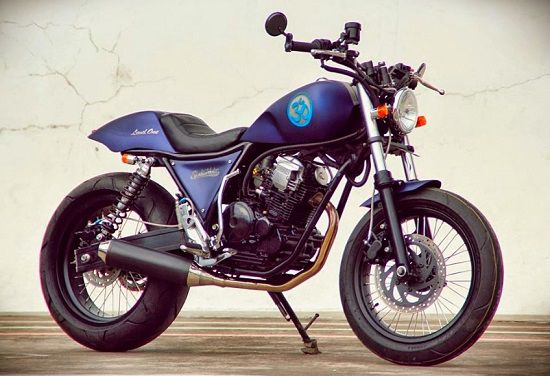 Modifikasi Motor Cafe Racer 6