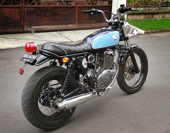 Modifikasi Motor Jap Style