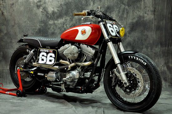Modifikasi Motor Street Tracker