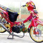 Modifikasi Motor Supra X 125