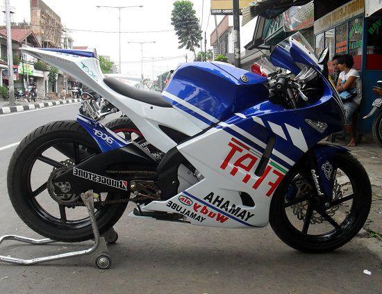 Modifikasi Motor Vixion MotoGP