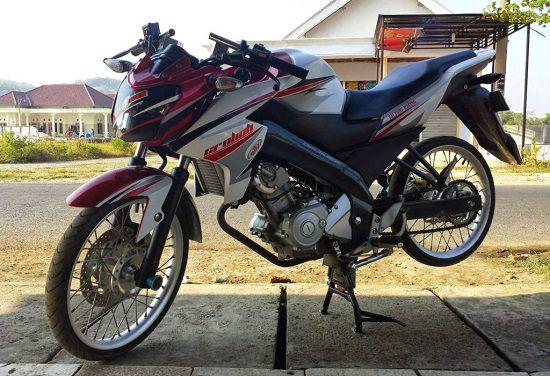 Modifikasi Motor Vixion Thailook