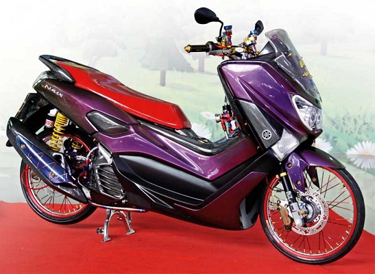 Modifikasi NMAX Thailook
