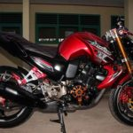 Modifikasi Yamaha Byson Full Aksesoris