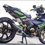 Modifikasi Yamaha Jupiter MX King