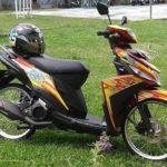 Modifikasi Yamaha Mio M3 Thailook