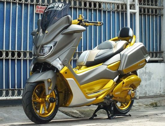 Modifikasi Yamaha NMAX Sidebox