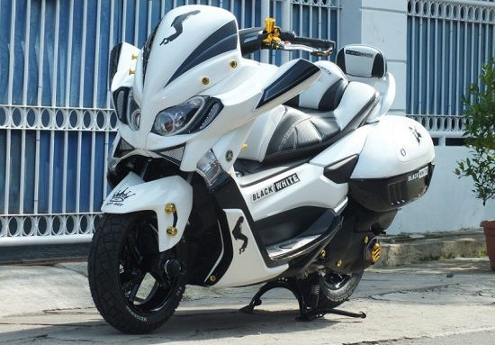 Modifikasi Yamaha NMAX Touring
