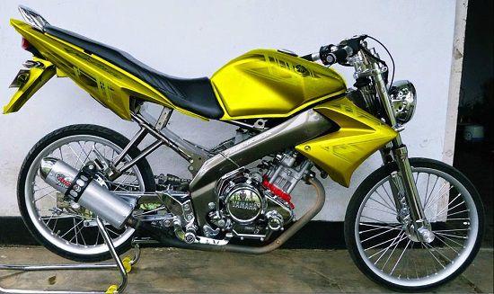 Modifikasi Yamaha Vixion Drag