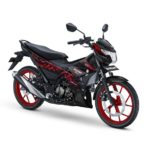 Warna Satria FU Titan Black - Red CW