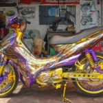 modifikasi yamaha jupiter z1 airbrush