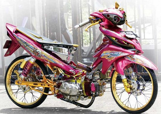 modifikasi yamaha jupiter z1 thailook style