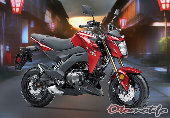 Desain Kawasaki Z125 Pro SE