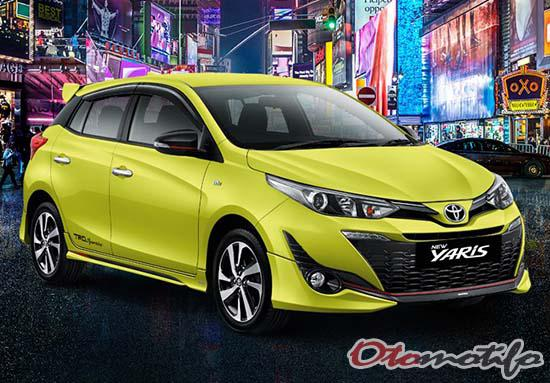 Harga Toyota Yaris 2021 Tipe Manual Matic Trd Sportivo Otomotifo