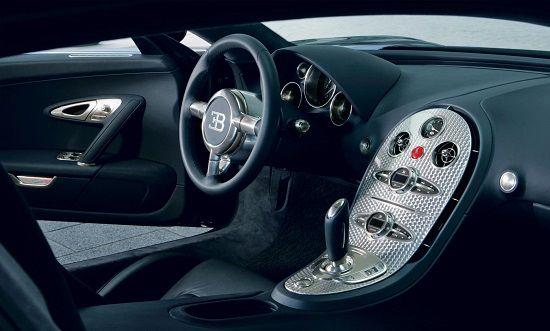 Gambar InteriorBugatti Veyron 16.4