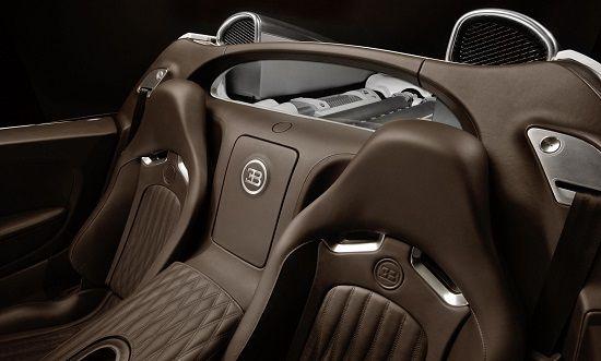 Gambar InteriorBugatti Veyron Grand Sport