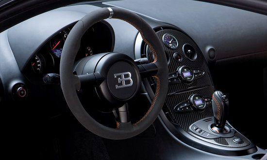 Gambar Interior Bugatti Veyron Super Sport