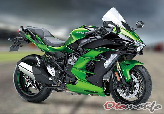 Gambar Motor Kawasaki Ninja H2 SX SE