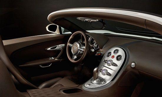InteriorBugatti Veyron Grand Sport