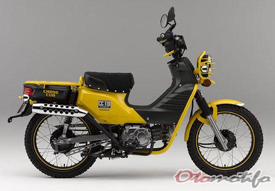 Modifikasi Honda Cross Cub