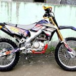 Modifikasi Kawasaki KLX 150