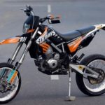 Modifikasi Kawasaki KLX 150 Supermoto