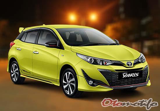 Spesifikasi dan Harga Toyota Yaris