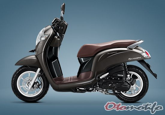 Warna Honda Scoopy Stylish Matte Brown