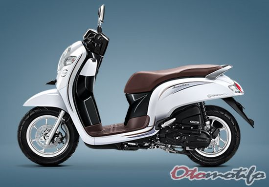 Warna Honda Scoopy Stylish White