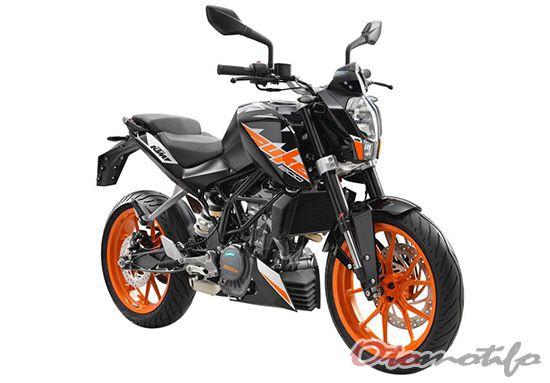 Desain KTM Duke 200