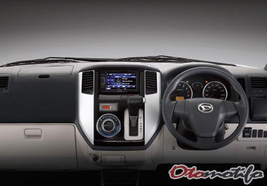 Gambar Interior Daihatsu Luxio