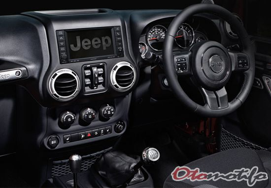Interior Jeep Rubicon