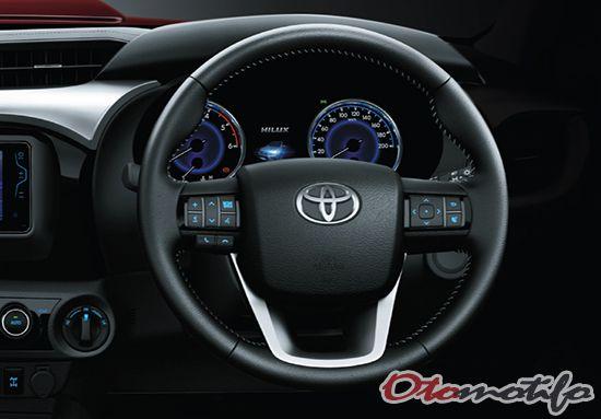 Interior Toyota Hilux Duble Cabin