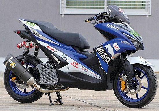 Modifikasi Aerox 155 Road Race