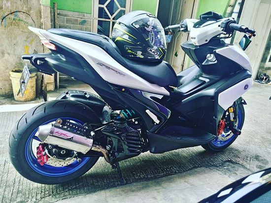 Modifikasi Aerox 155 Simple