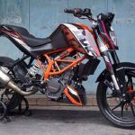 Modifikasi KTM Duke 200