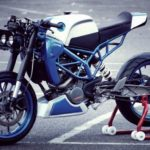 Modifikasi KTM Duke 200 Cafe Racer