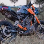 Modifikasi KTM Duke 200 Scrambler