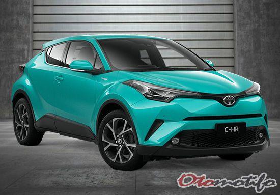Fitur Toyota CHR