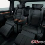 Interior Mobil Toyota Alphard