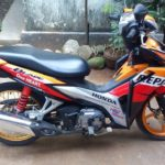 Modifikasi Honda Blade 125 FI